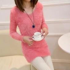 Angora Pullover rosa