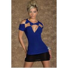Clubshirt blau