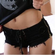 Jeans Shorts schwarz